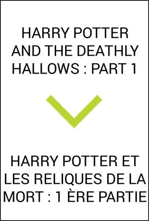 Harry Potter et les reliques de la mort 1 Ere partie