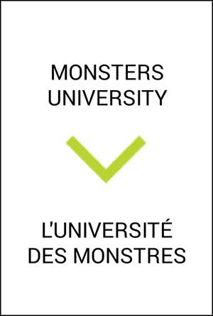 LUNIVERSITe DES MONSTRES